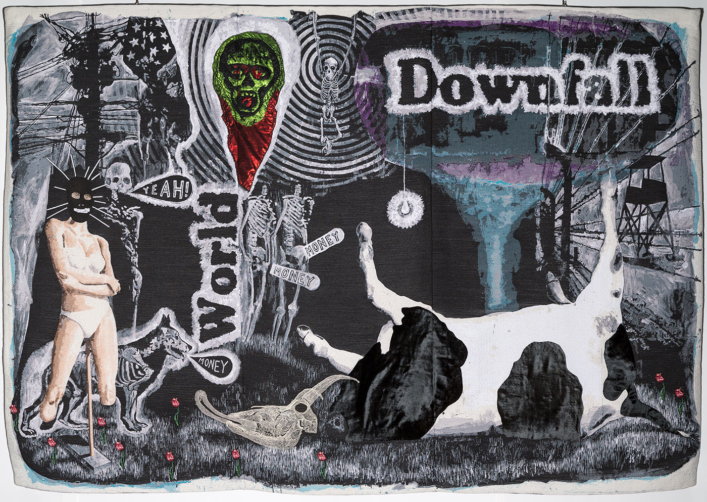 Damien Deroubaix - World Downfall, 2014