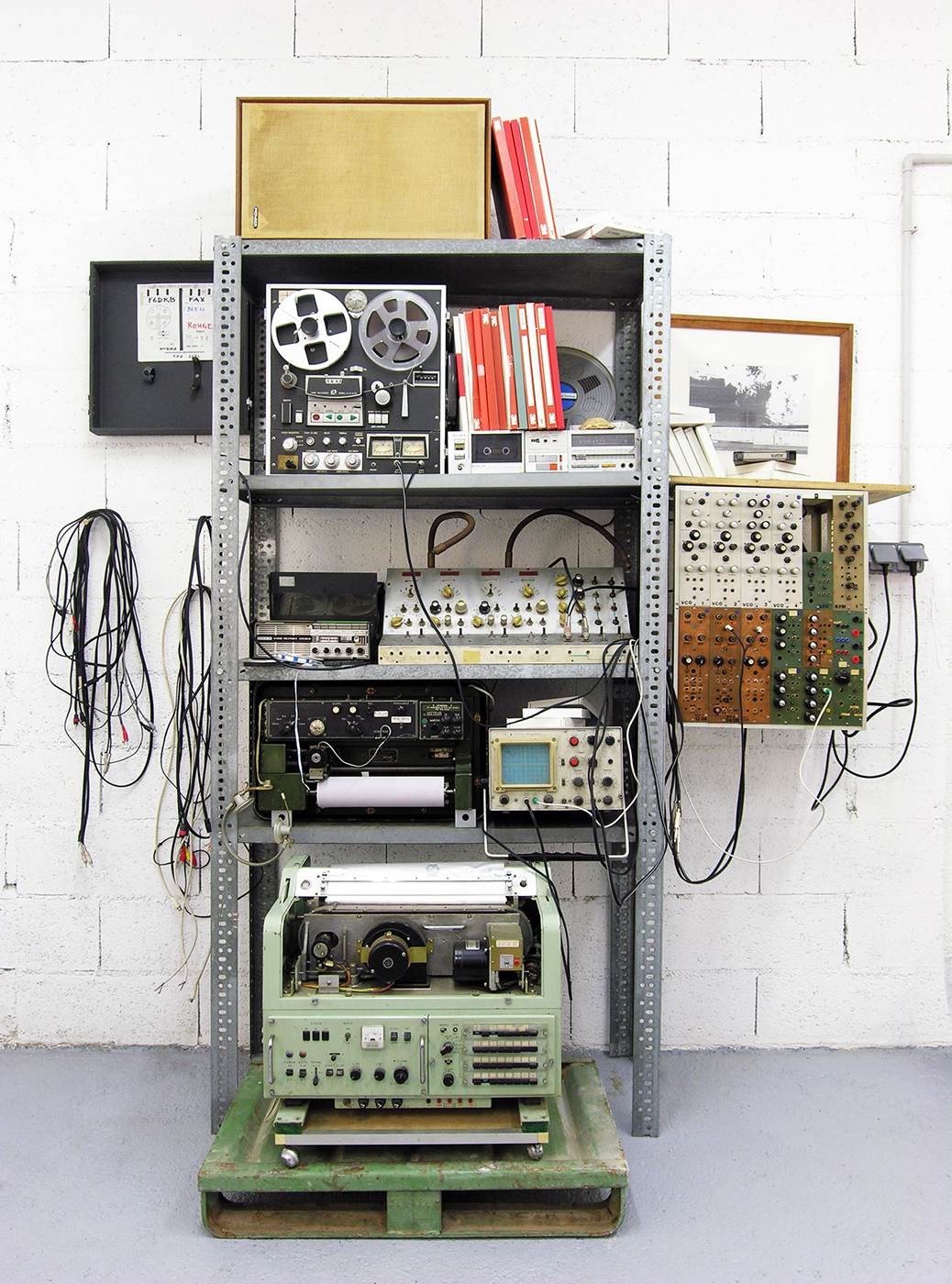 Lars Fredrikson / Estate  - Artist studio for Sound installations & Fax pieces