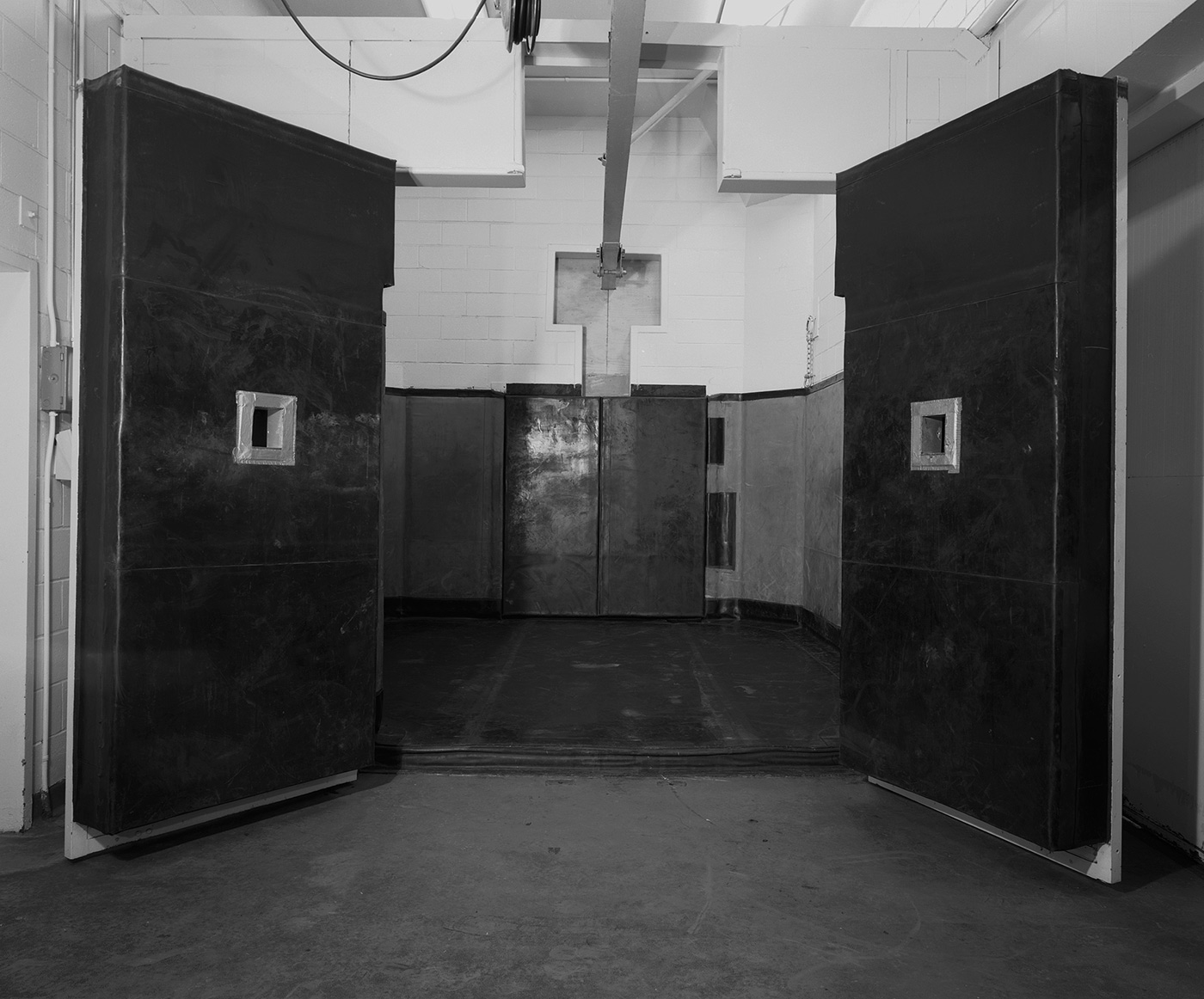 Untitled (black doors Malevitch), 2004