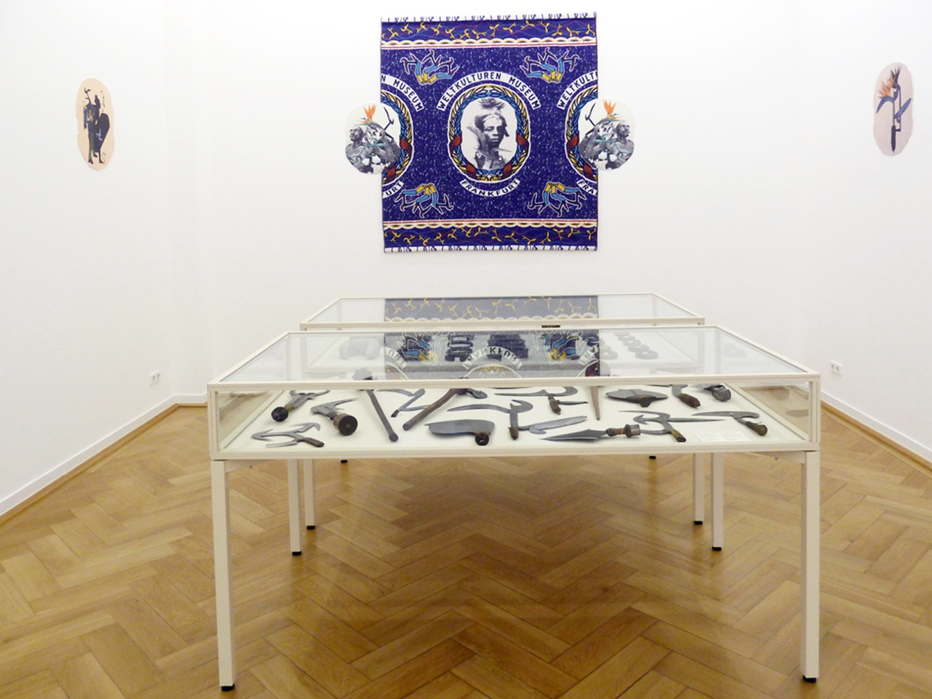 Otobong Nkanga - Object Atlas - Facing the Opponent (exhibition view), 2012