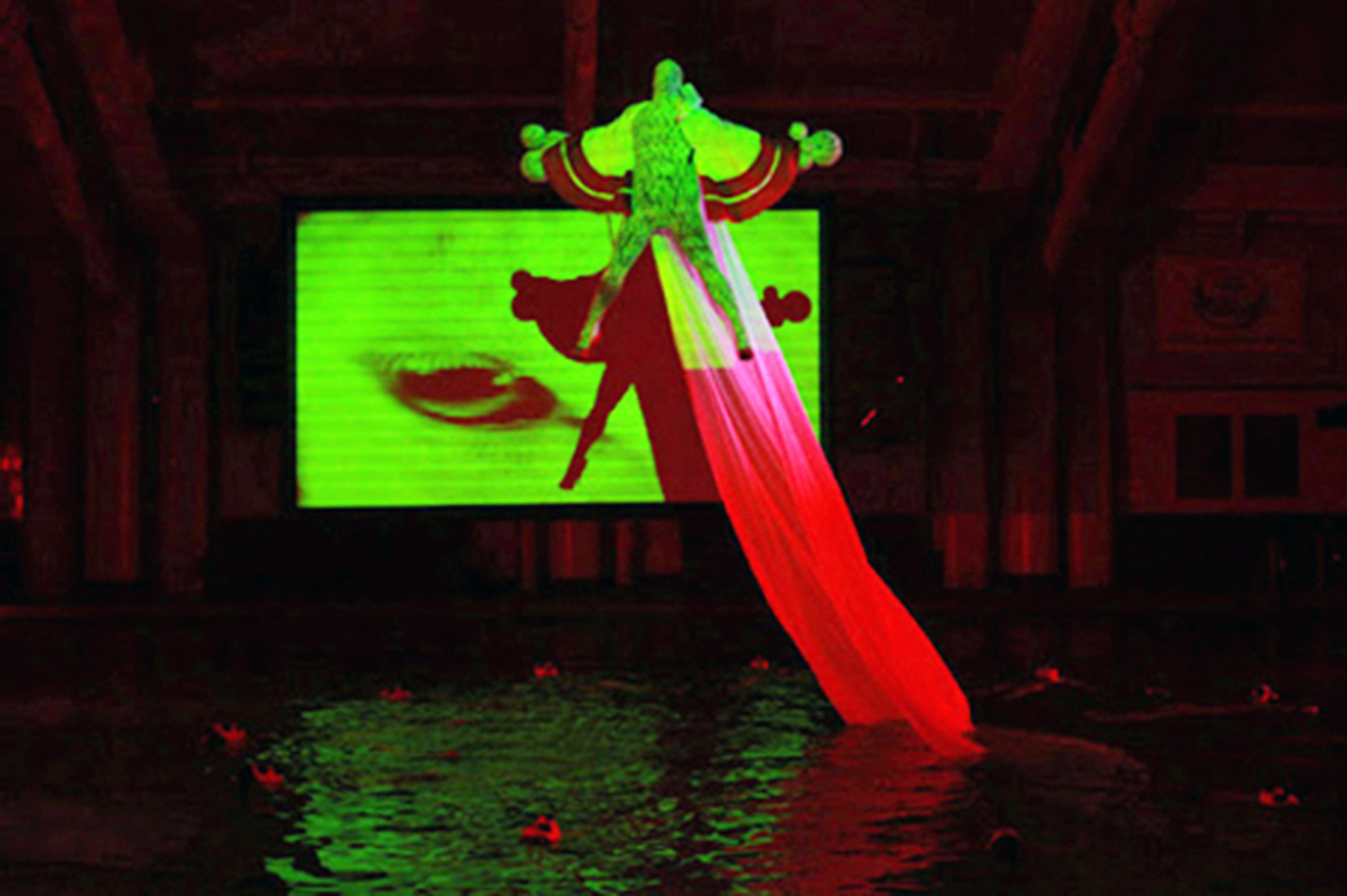 Athi-Patra Ruga - Performance view - Ilulwane, NYC, Performa, 2011