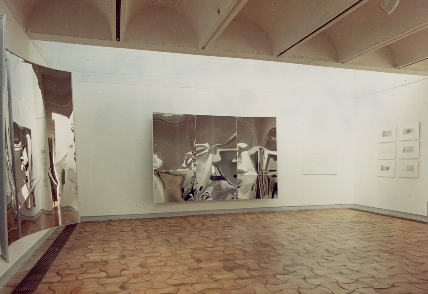 "Lars Fredrikson / Estate  - Exhibition view "" Espaces virtuels "" Fondation Maeght 1972"