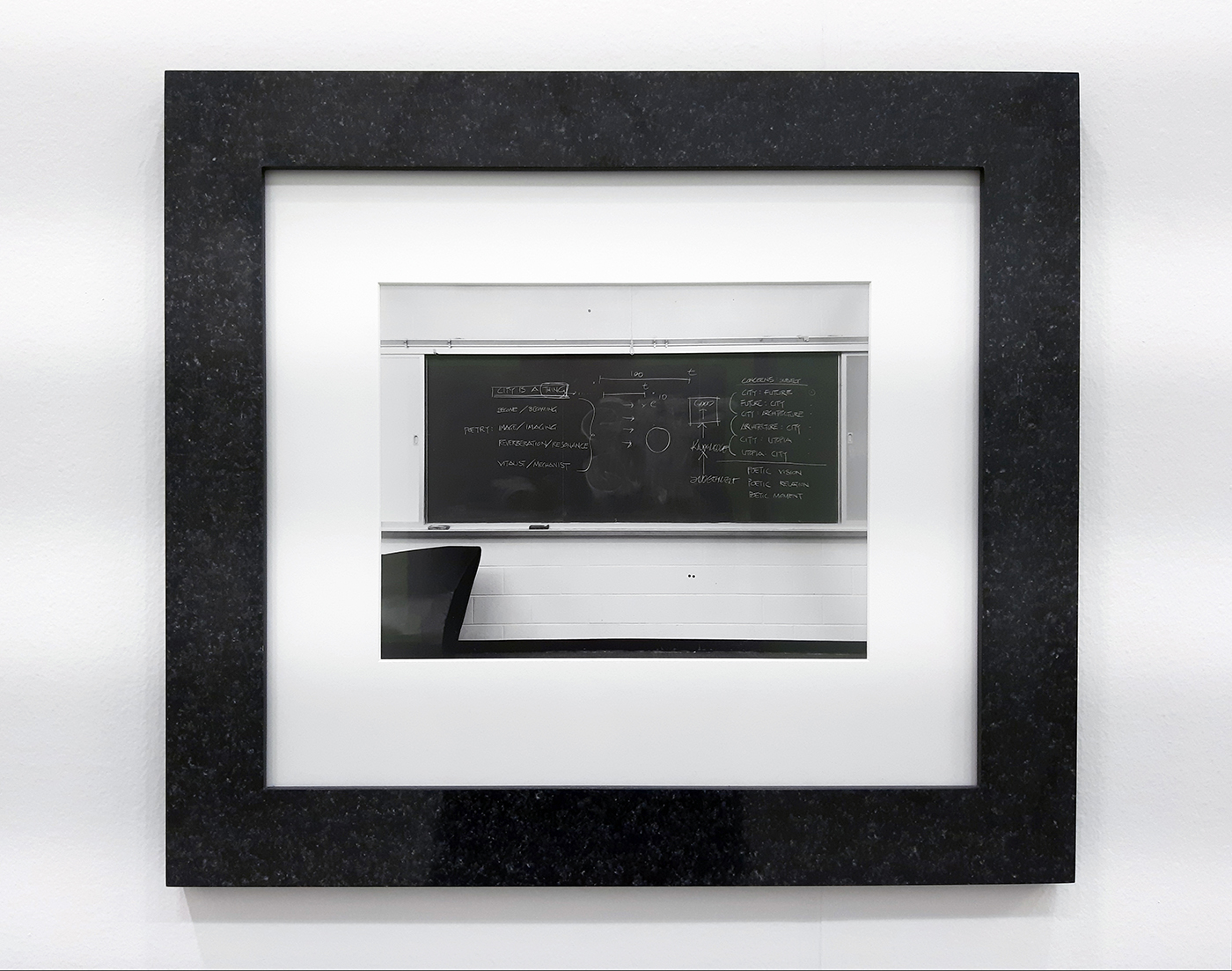 Lynne Cohen / Estate  - Untitled (Blackboard for architects), 1980-1989(2012)