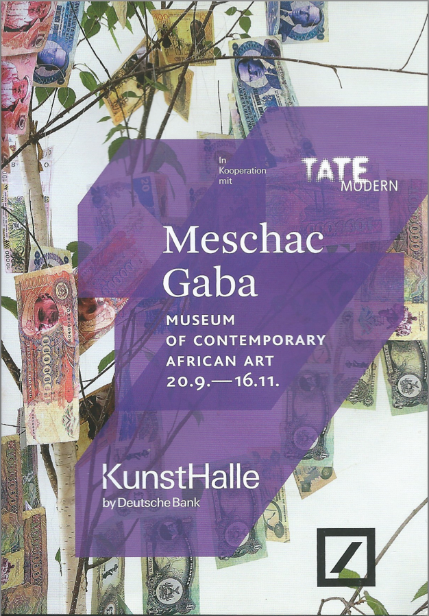 MESCHAC GABA at KUNSTHALLE BERLIN / TATE MODERN